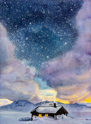Star field by evgeniabel