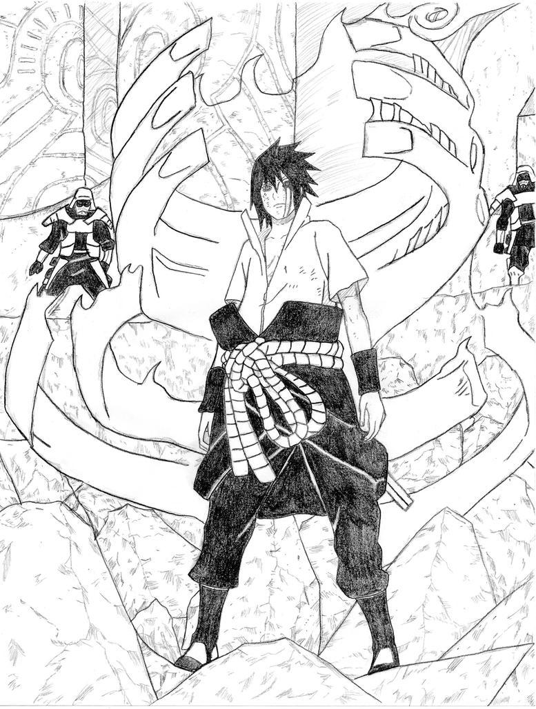Sasukes Susanoo By Angeloscuro94 On DeviantArt