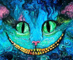 Cheshire In Acrylics