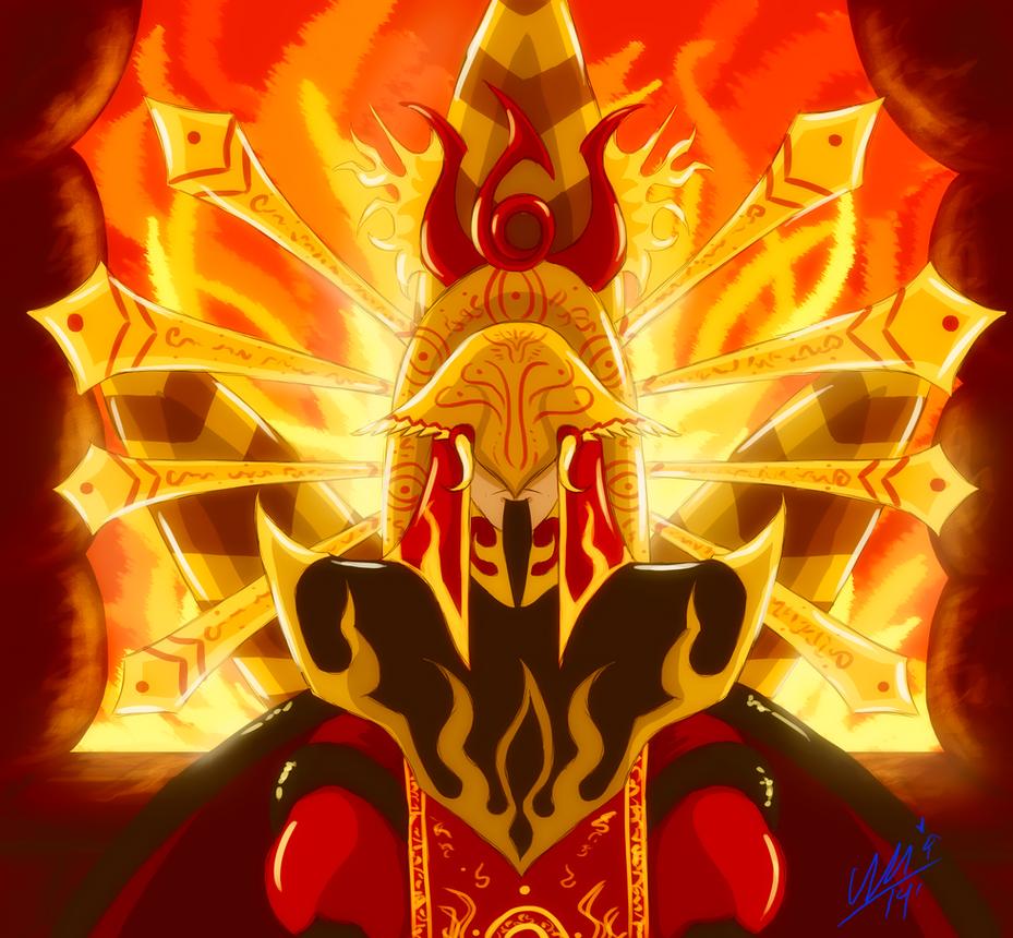 The Phoenix King by Umwak