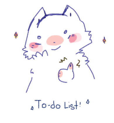 to-do list!! by catmas