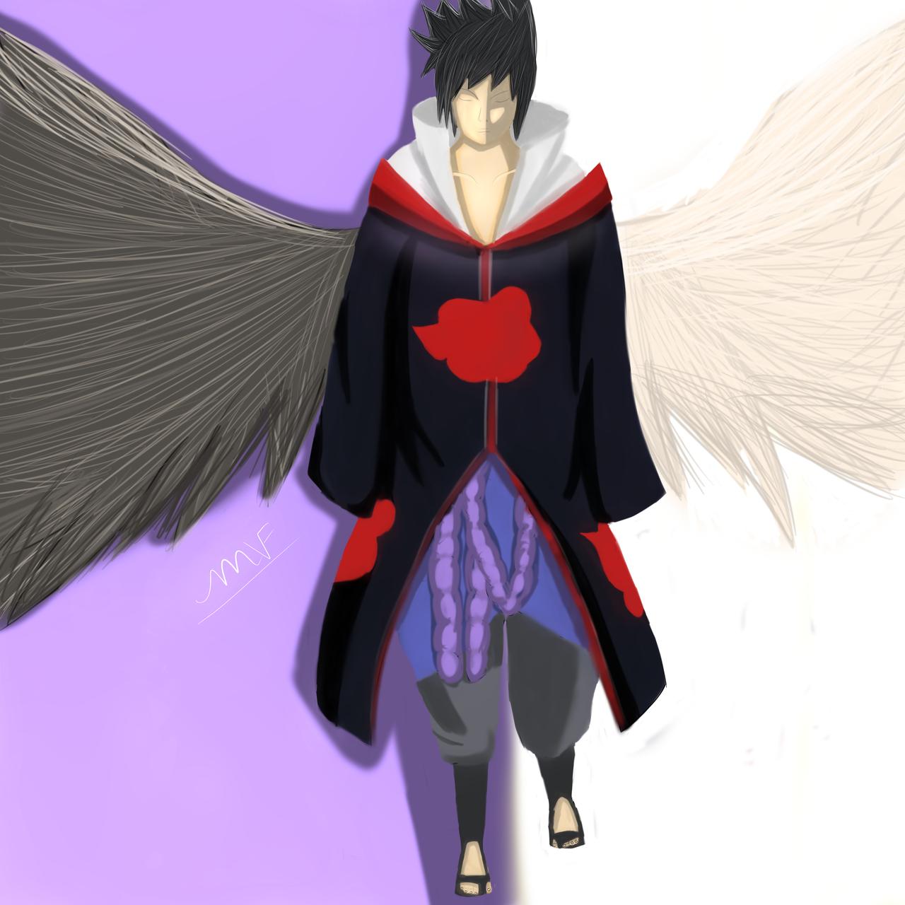 Akatsuki Sasuke by Flamy1