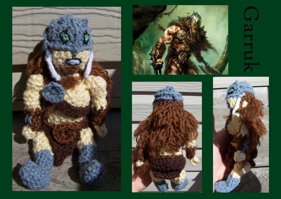 MtG doll:  Garruk by JenniferElluin