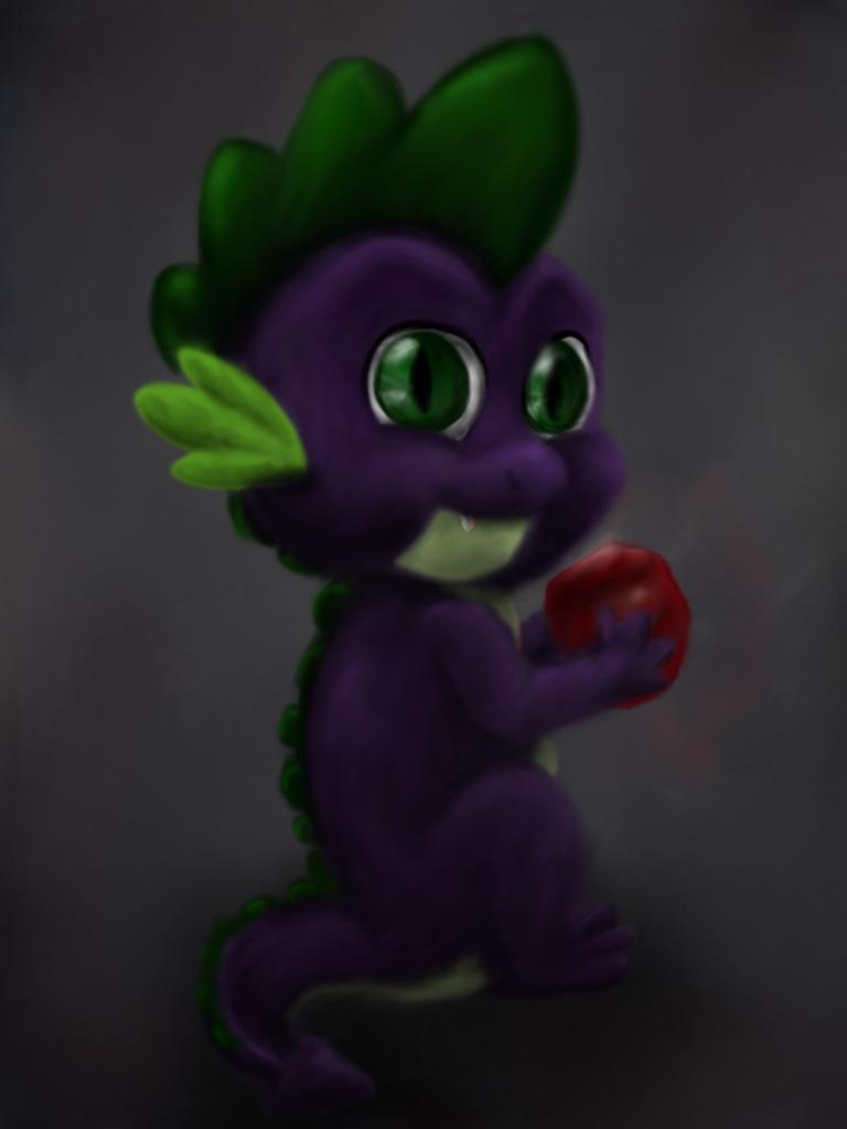 MLPFIM:  Spike by JenniferElluin