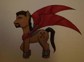 Xanatos pony by JenniferElluin