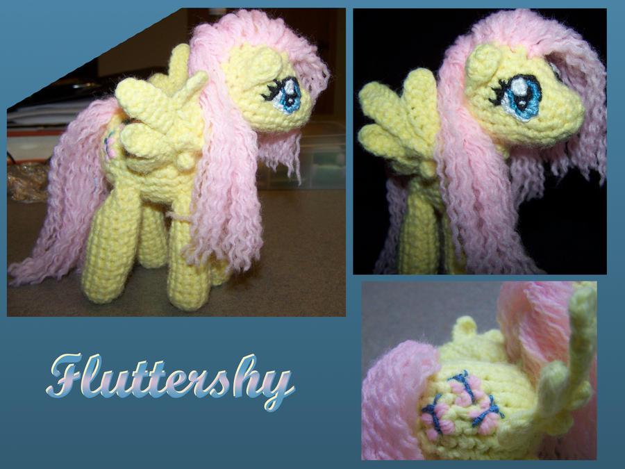 Fluttershy doll by JenniferElluin