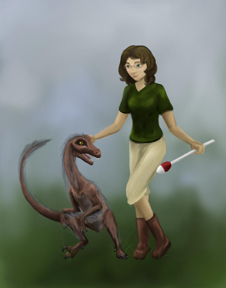 Raptor Trainer by JenniferElluin