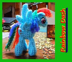 Rainbow Dash doll by JenniferElluin