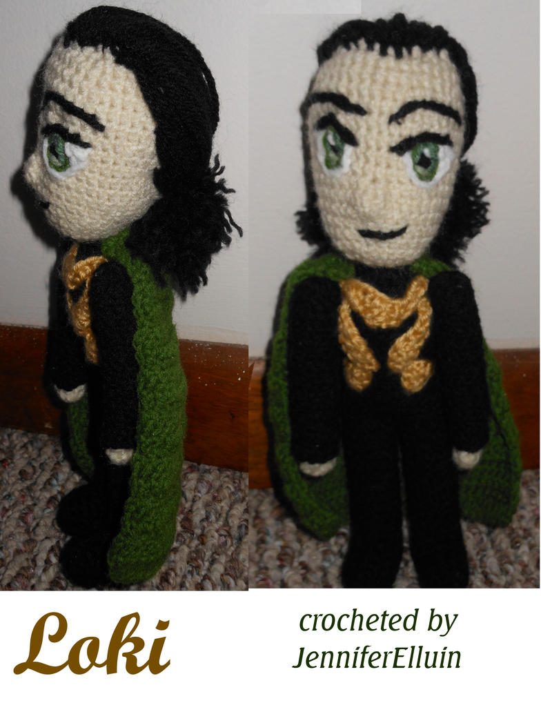 2nd Loki doll by JenniferElluin