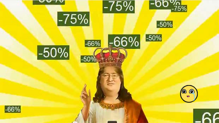 Reminder of the steam sales