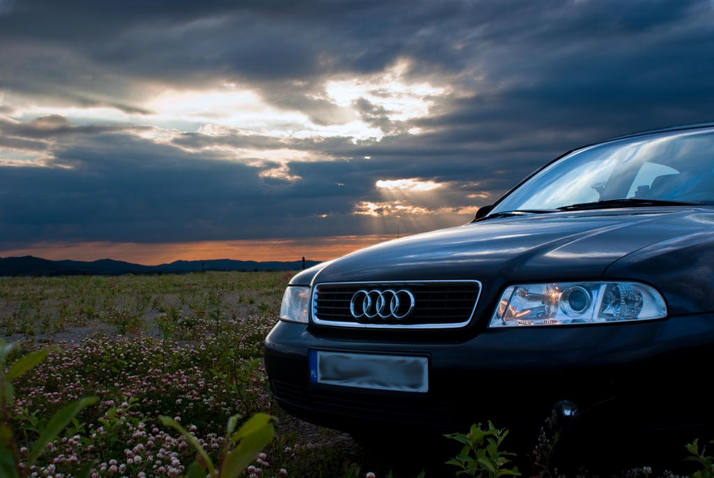 Audi A4 B5 Sunset by KartofeLone on DeviantArt