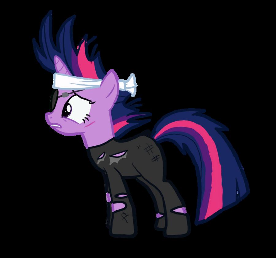 Как сделать пони в стиле брони