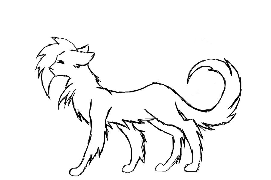 Line Art Of Cat : Line art cat
