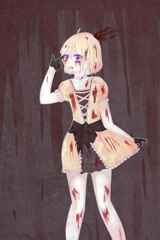 Fnaf human chica by kitenchan on deviantart