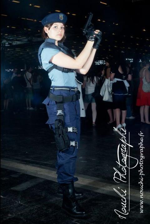 Jill Valentine's cosplay 2 by BubbleHeadNurseXD