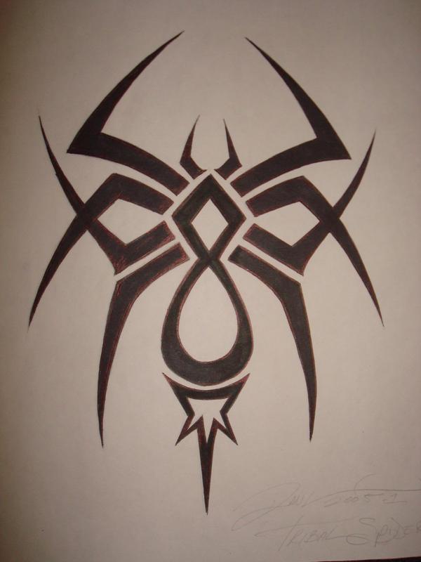 Tribal Spider by SharpieFetish on DeviantArt
