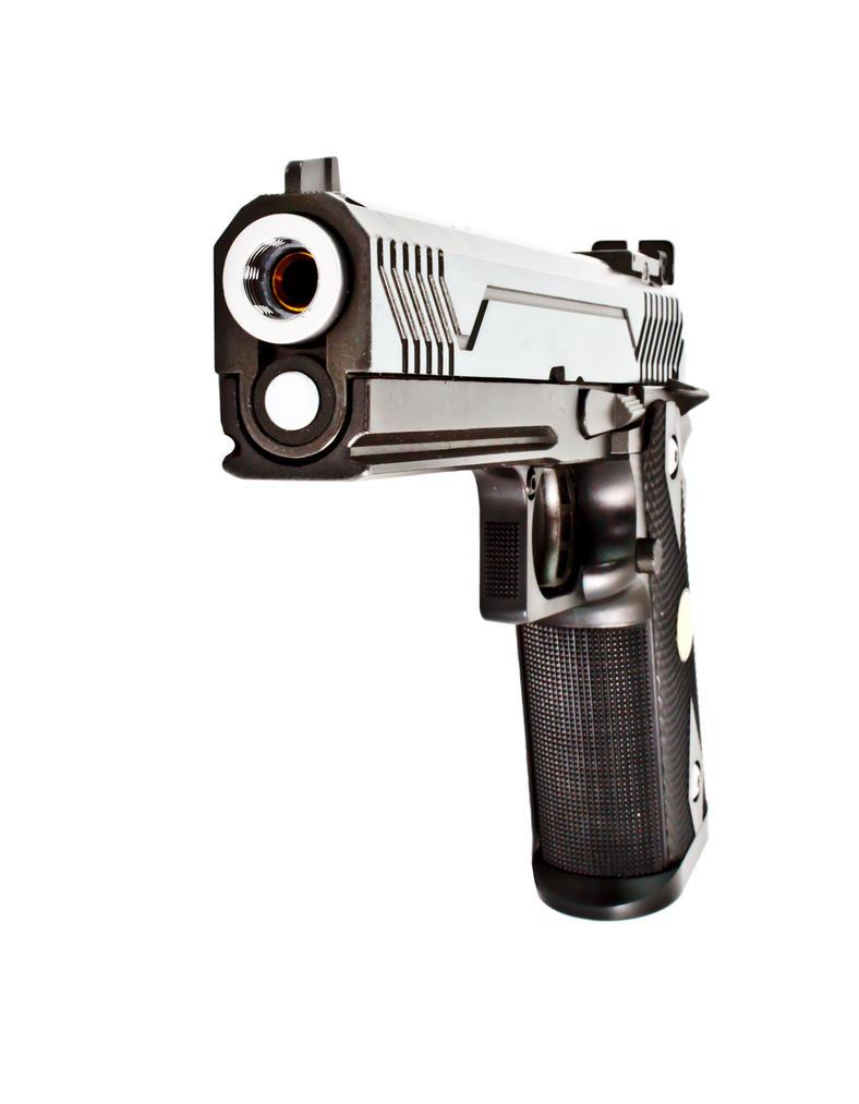 Pointing Gun by thesmallwonder