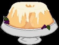 Lemon Chiffon Cake by Uylisis