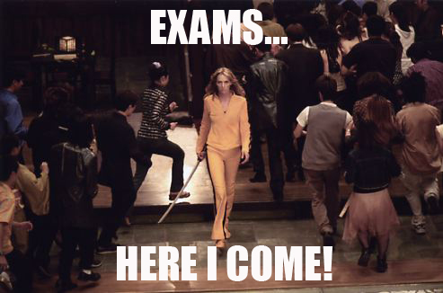 Exams... Here I come! by FloraWhite