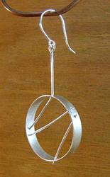 Wired Hoop Earring