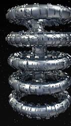 Spacestation Christmas