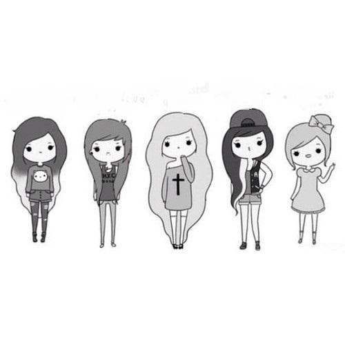 Cute Girl Drawings Cute Chibi Girls