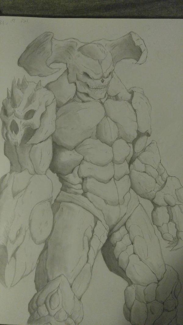 Doom demon by RicoMH777