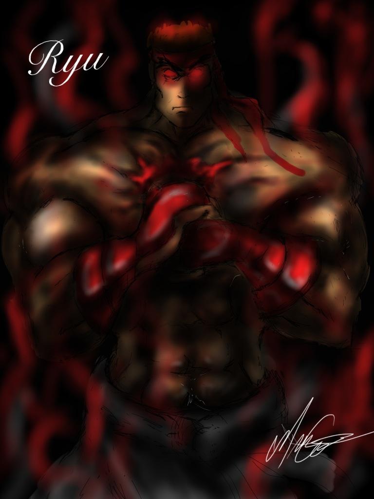 Evil Ryu By Romeomafia On Deviantart