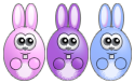 Easter bunnies by comino69