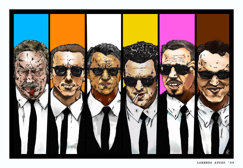 Reservoir Dogs: Colour Code by LorenzoAyuso