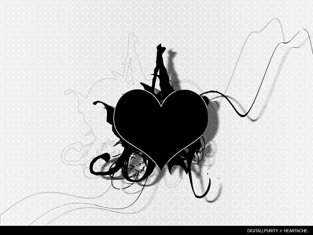 Black. -heartache- by digitallpurity