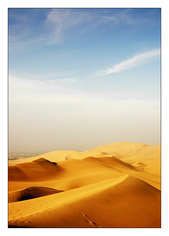 The Desert by ranmor