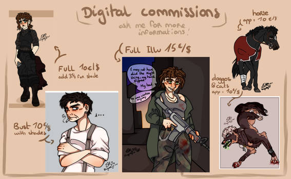 Commissions open 2021