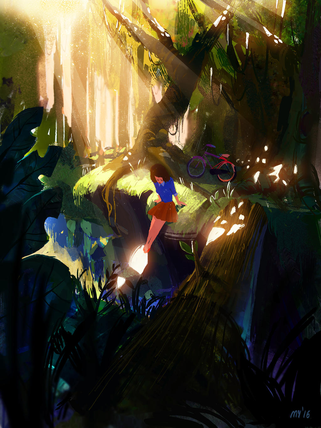woodland wanderin' by mobul