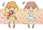 Usamimi[Overalls adopts] SET PRICE [Closed]
