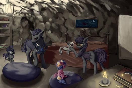 Bat Pony Family
