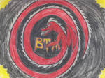The flag of the BTM's by Blaze-Drag
