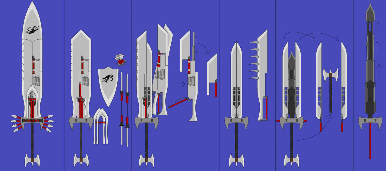 Multi-Blade D by Blaze-Drag