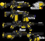 Fool's Gold (RWBY style gun)
