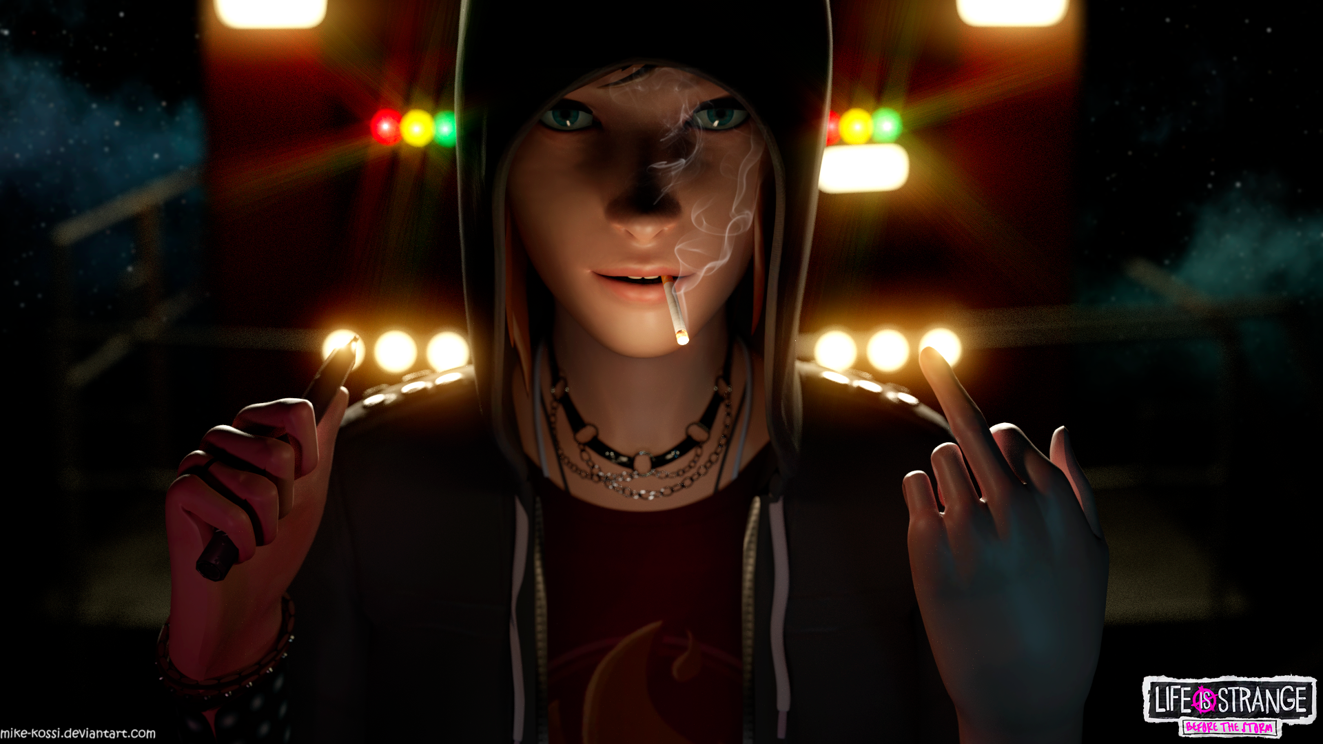 Life Is Strange 2 Wallpaper: Punk Chloe By Mike-Kossi On DeviantArt