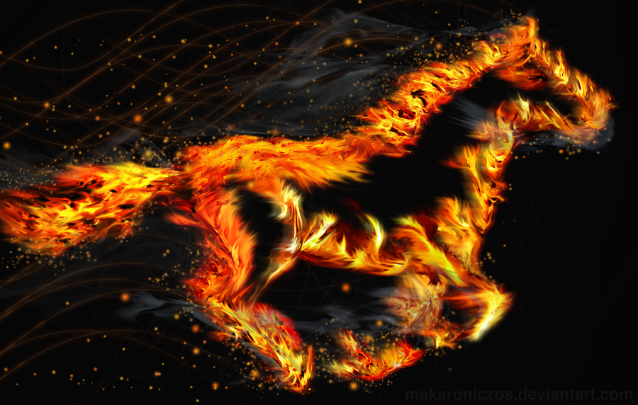 Fire Mustang by makaroniczos