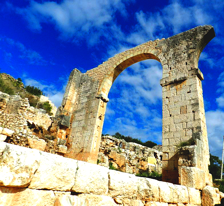 Old Roman Arch - Edited by BlissfullyRebellious