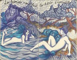 Moleskine XLII - Le temps nous fuit... by simoneines