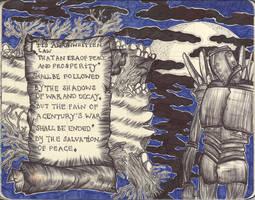 Moleskine XLV - Eras of Peace and War by simoneines