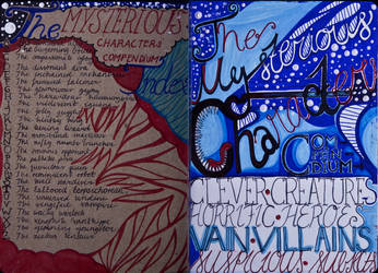 The Sketchbook Project 2013 - Table of Contents by simoneines