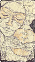 Moleskine VI - Masks by simoneines