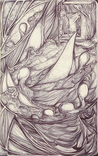 Moleskine XII The Sleeper's Dream by simoneines
