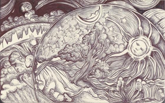 Moleskine XV - Camille Flammarion, L'Atmosphere