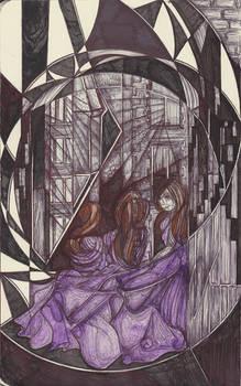 Moleskine XVII - Her spirit aloft (Dean Village)