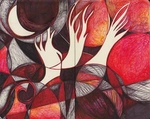 Moleskine IXX - Red Ghost Trees